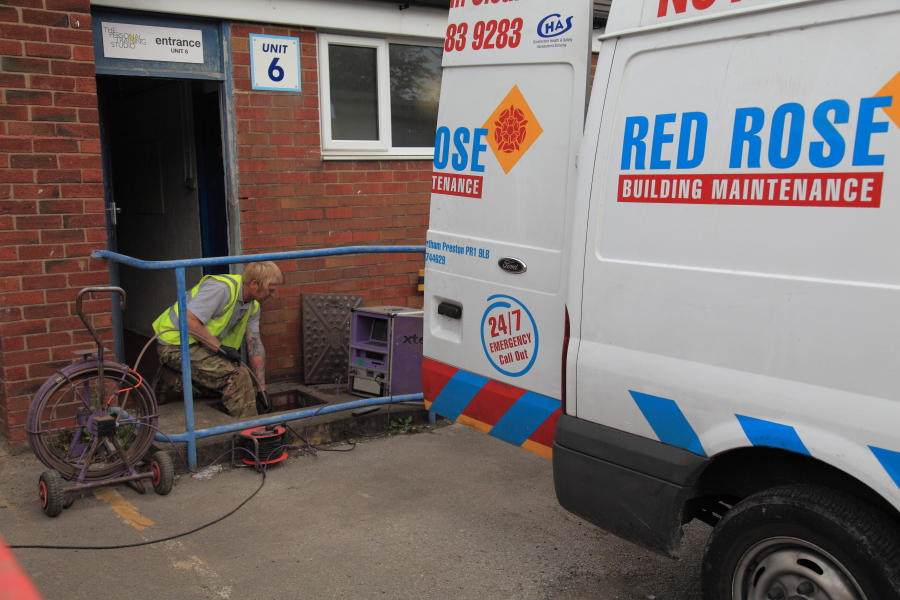 Blocked drains in Bolton