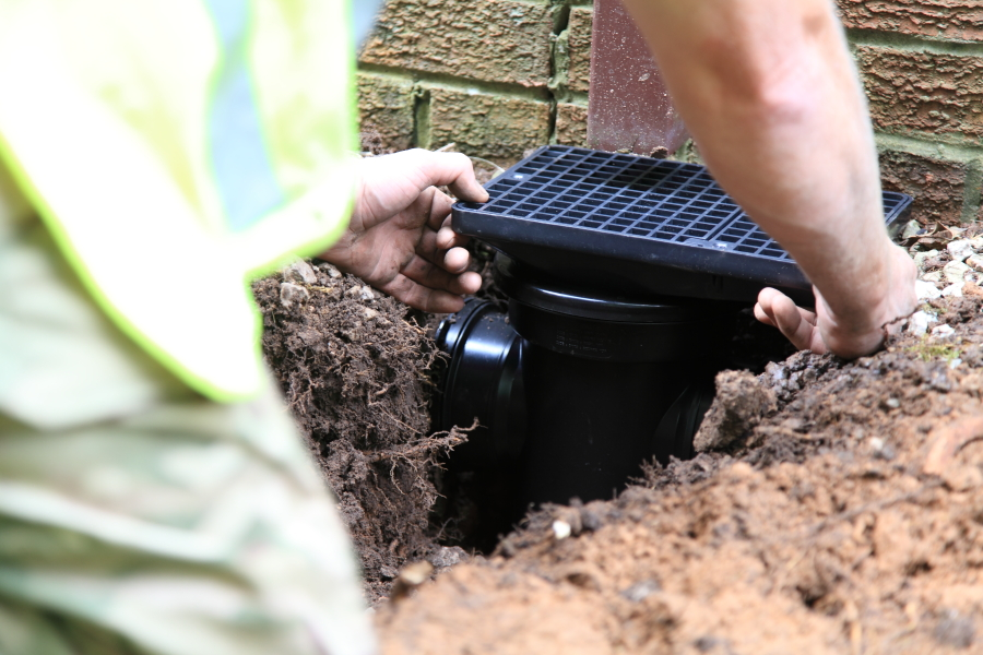 Drain Construction in Ormskirk