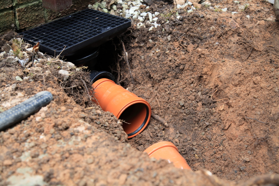 Drain Construction in Preston