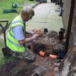 Drain Construction in Bamber Bridge